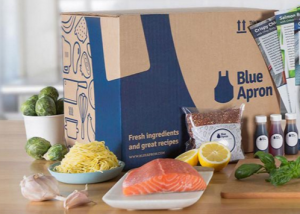 Blue Apron's Boxed Deliver