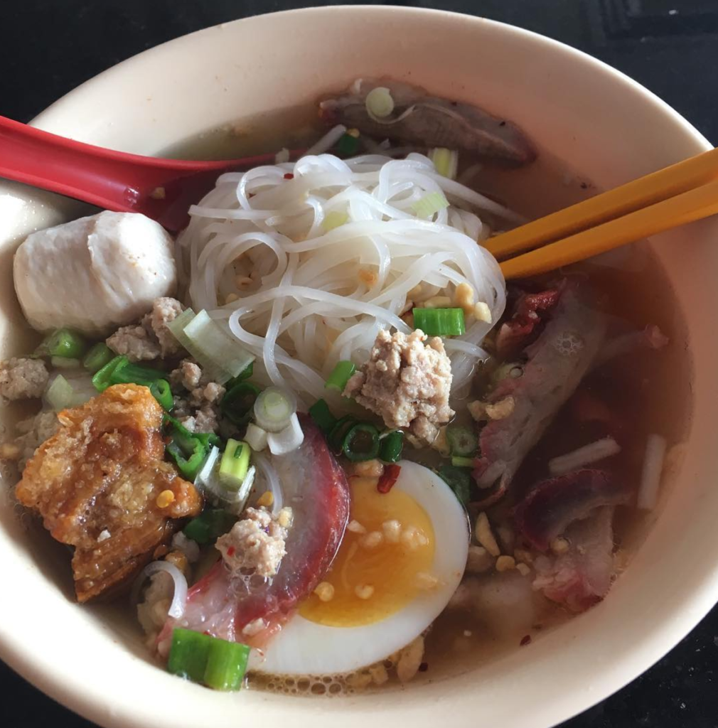 A classic soup dish at Crispy Pork Gang in Thai Town